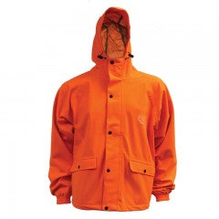 BACKWOODS EXPLORER BLAZE ORANGE LIGHT WEIGHT HUNTING JACKET   LG