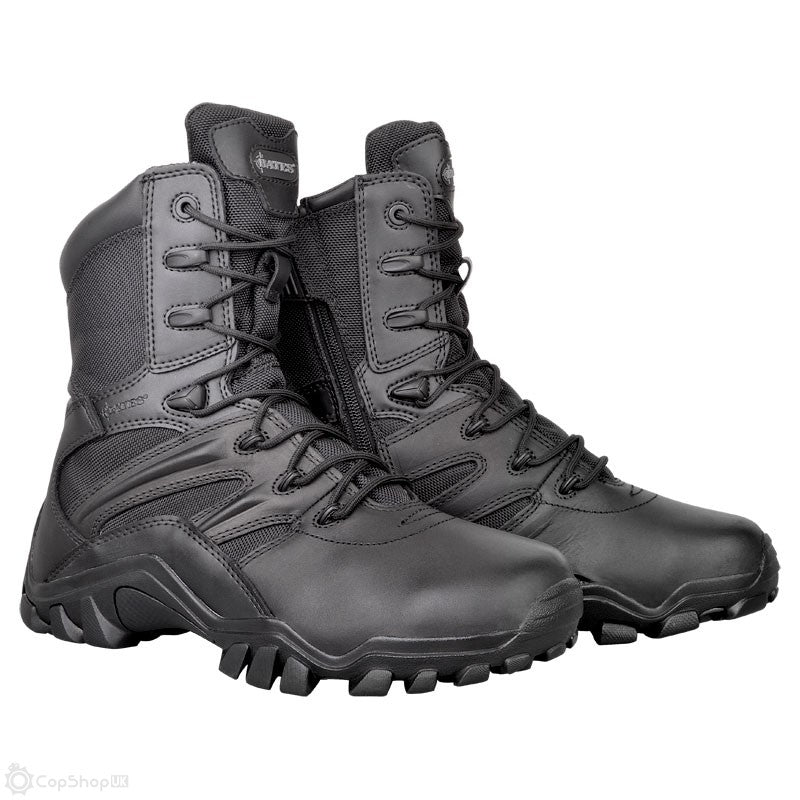BATES DELTA-8 -  SIDE ZIP - MENS BOOTS - BLACK