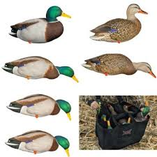 AVIAN X TOP FLIGHT FULL BODY MALLARDS W 6 SLOT BAG- 6 PK-High Falls Outfitters