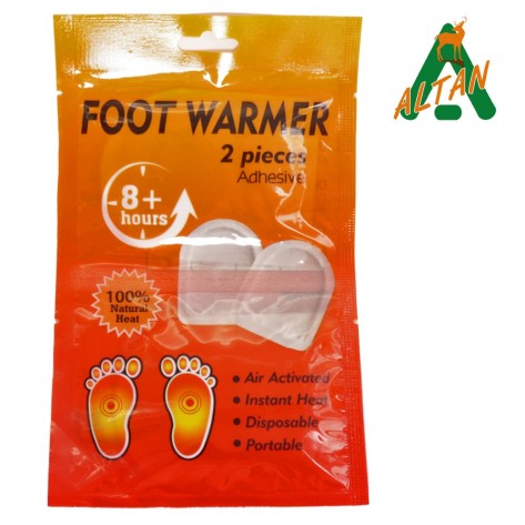 ALTAN FOOT WARMER  2 PIECES    ADHESIVE   8 HOURS