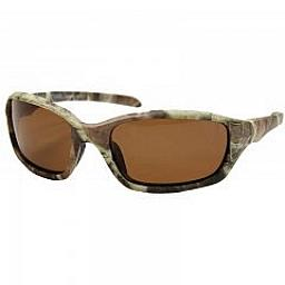 BACKWOODS POLARIZED SUN GLASSES GREEN CAMO