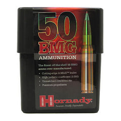 HORNADY 50 BMG 750 GR. A-MAX AMMUNITION-High Falls Outfitters