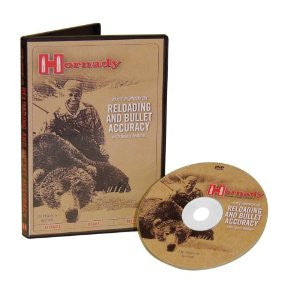 HORNADY RELOADING AND BULLET ACCURACY DVD-High Falls Outfitters