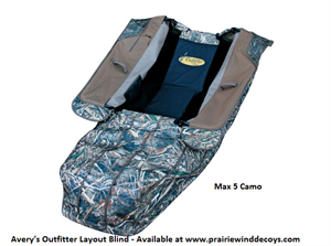 AVERY- OUTFITTER LAYOUT BLIND  MAX-5
