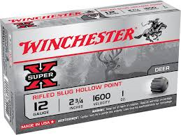 Winchester Super-X Rifled Slugs-High Falls Outfitters