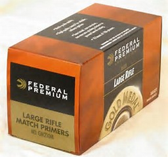 FEDERAL LARGE PISTOL PRIMERS MATCH #
