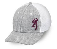 BROWNING CAP NADIA GRY/WHT-High Falls Outfitters