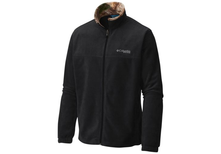 COLUMBIA PHG FLEECE JACKET MENS - BLK