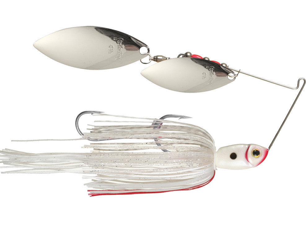 STRIKE KING - PREMIER PLUS SPINNERBAITS DOUBLE WILLOW