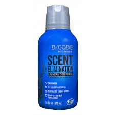 D/CODE SCENT ELIMINATION LAUNDRY DETERGENT  16 FL OZ