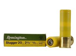 REMINGTON SLUGGER 20G, 2 3/4, 5/58OZ-High Falls Outfitters