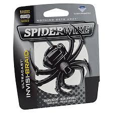 SPIDERWIRE - INVISA-BRAID - 125 YDS