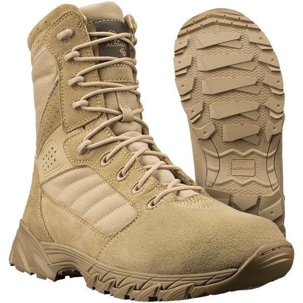 "ALTAMA FOXHOUND SR 8"" MENS BOOTS- 10"