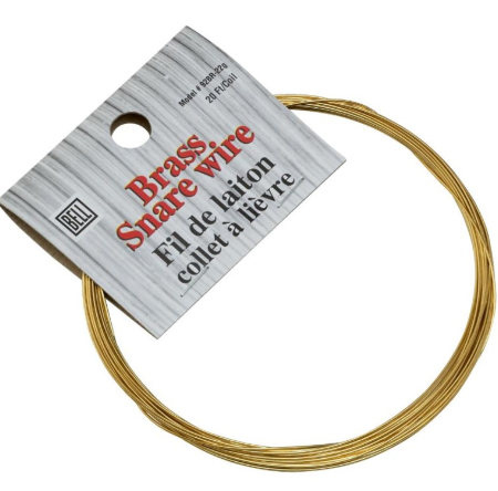 BELL - BRASS SNARE WIRE 20