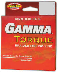 GAMMA TORQUE BRAIDED FISHING LINE    GREEN