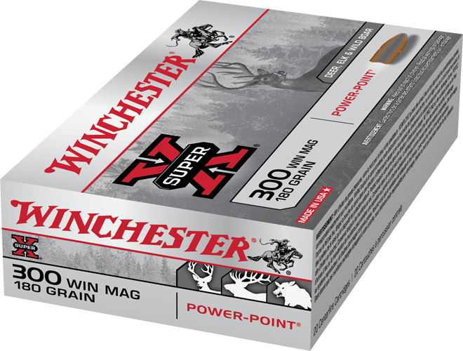 WINCHESTER SUPER X 300 WINMAG 180 GR POWER-POINT