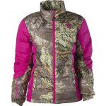 BROWNING HELLS BELLS BLENDED DOWN JACKET CORAL-High Falls Outfitters