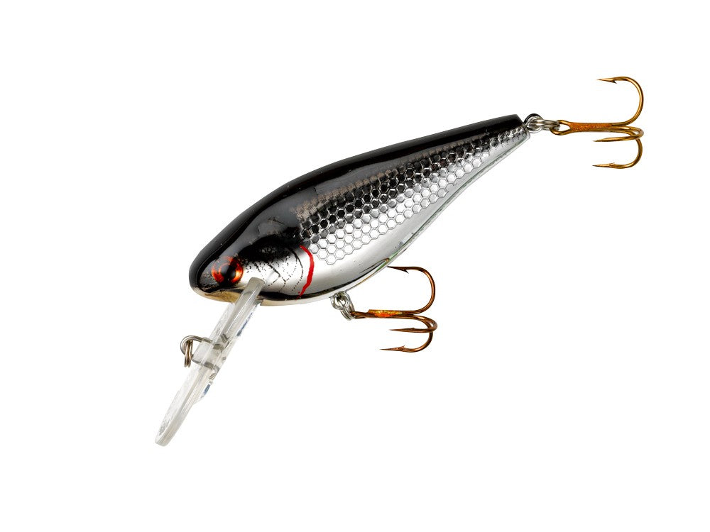 COTTON CORDELL CC SHAD Chrome Black