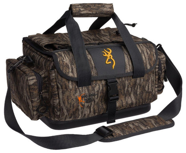 BROWNING WICKED WING RANGE GEAR BAG     MOSSY OAK BOTTOMLAND