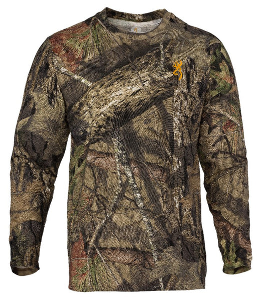 Browning Wasatch Long Sleeve T Shirt- Break Up Country
