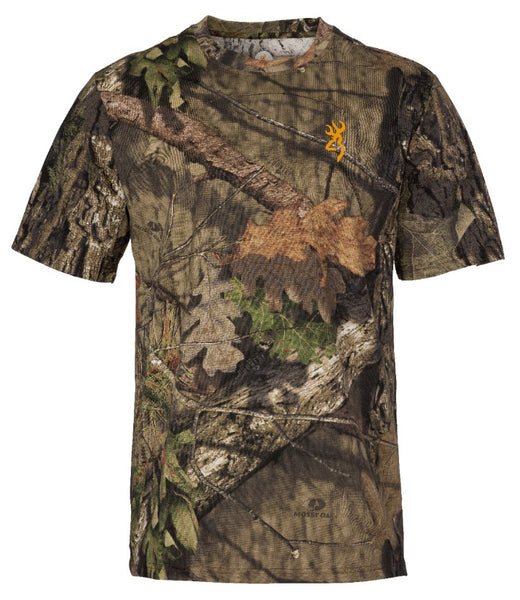 Browning Wasatch Short Sleeve T Shirt- Break Up Country