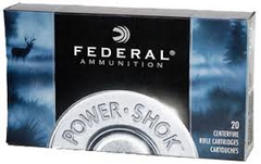 Federal Power Shok Rifle Ammunition-High Falls Outfitters