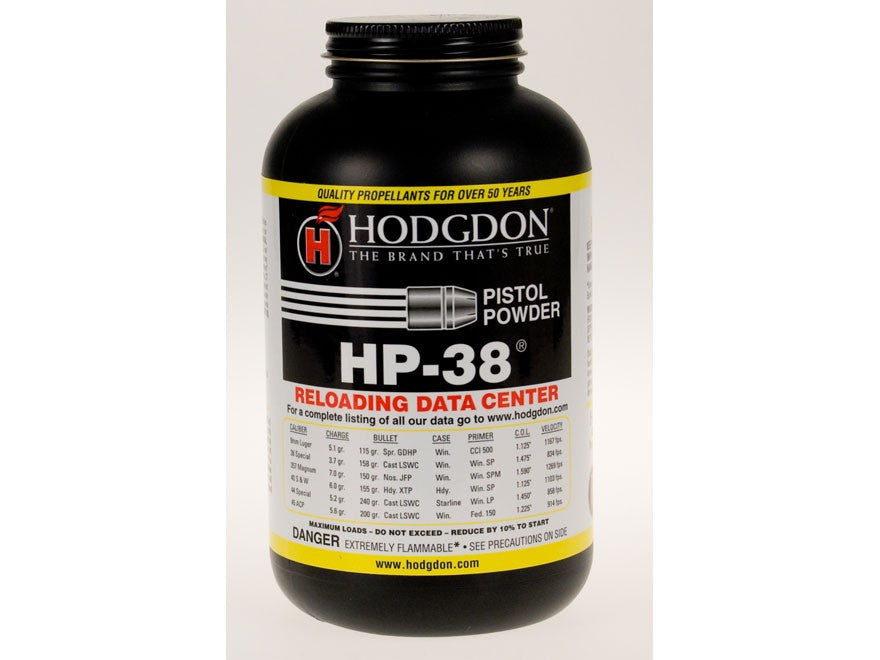 Hodgdon HP-38 1 lb Powder-High Falls Outfitters