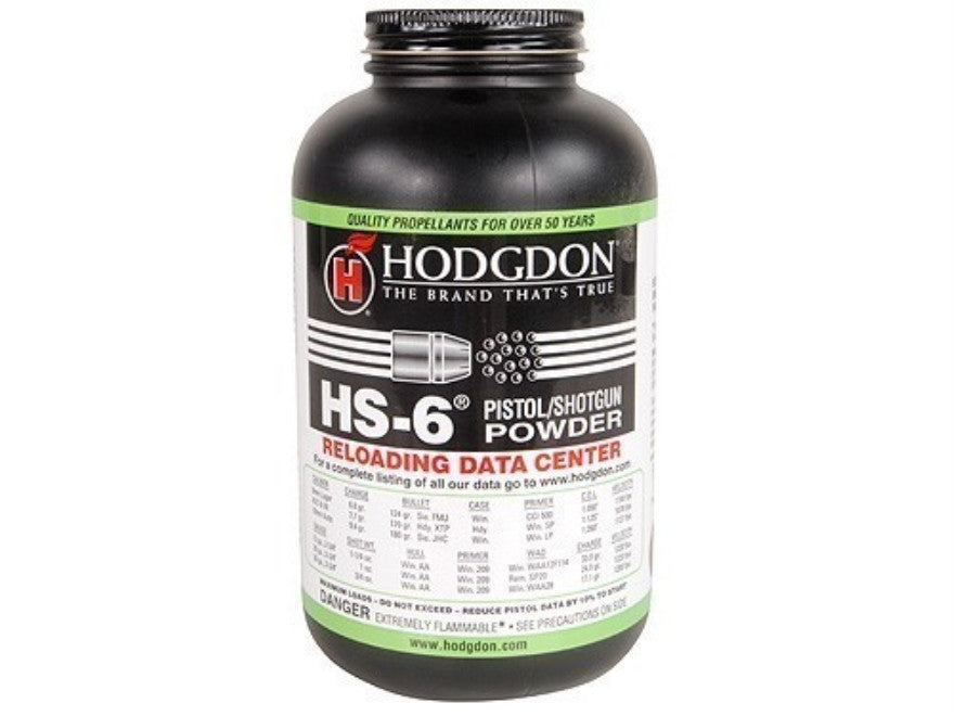 Hodgdon HS-6 1lb Powder-High Falls Outfitters