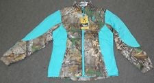 BROWNING HELLS BELLS BELENDED DOWN JACKET (TEAL AND CAMO)-High Falls Outfitters