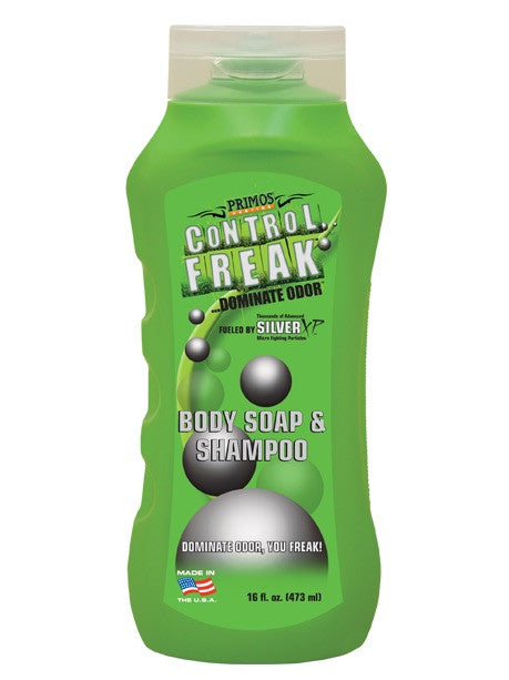 PRIMOS CONTROL FREAK BODY WASH AND SHAMPOO-High Falls Outfitters