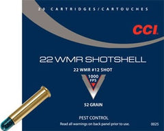 CCI 22 WIN MAG PEST CONTROL SHOTSHELL (#12) 20 PAK-High Falls Outfitters