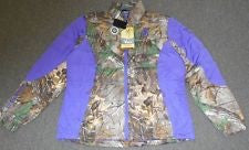 BROWNING HELLS BELLS BELENDED DOWN JACKET PLUM (PURPLE) AND CAMO-High Falls Outfitters