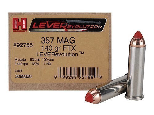 HORNADY-CRITICAL DEFENSE 357 mag 140 gr FTX LeverEvolution-High Falls Outfitters