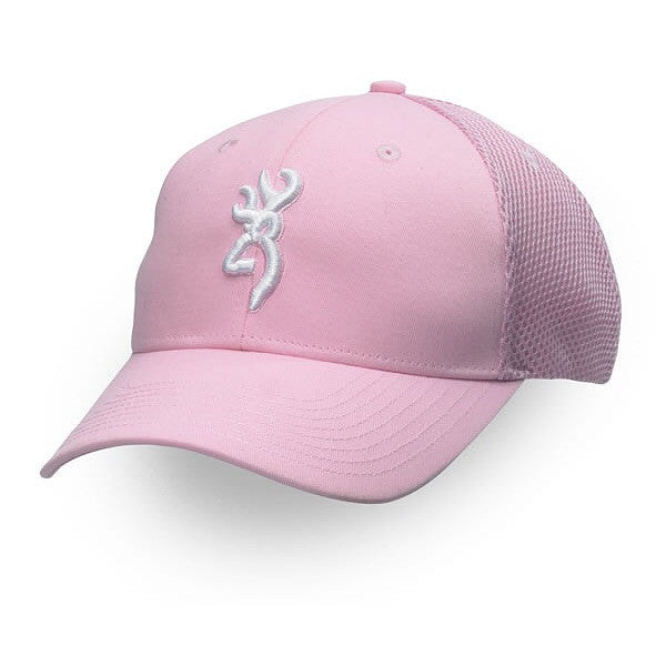 Browning-CAP BREEZ MESH PINK-High Falls Outfitters