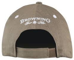 Browning-CAP STONEHAVEN TAUPE-High Falls Outfitters