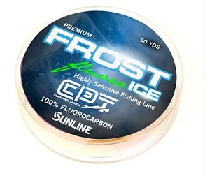 SUNLINE - FROST ICE 100% FLUOROCARBON 50 YARDS
