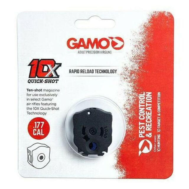 GAMO 10X QUICK SHOT RAPID RELOAD