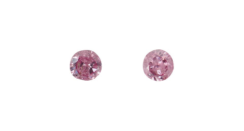 Argyle Pink Diamonds, 2pc, 0.28ct - Far East Gems & Jewellery