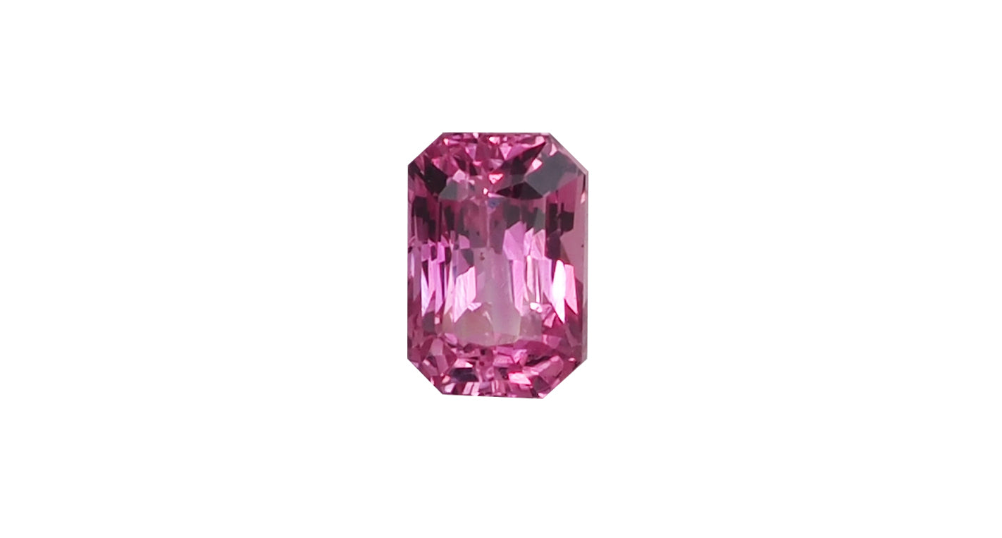 Orangey Pink Sapphire, 0.51ct - Far East Gems & Jewellery