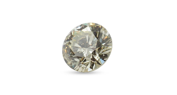 Fancy Colored Diamond - Fancy Light Brownish Greenish Yellow Diamond 0.70ct - Far East Gems & Jewellery