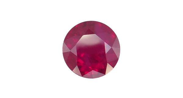 0.71ct Burma Pigeon's Blood Ruby - Far East Gems & Jewellery