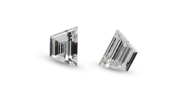 Trapezium White Diamonds, 0.88ct - Far East Gems & Jewellery