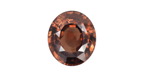 Zircon 13.46ct Sri Lankan Orangey-brown - Far East Gems & Jewellery
