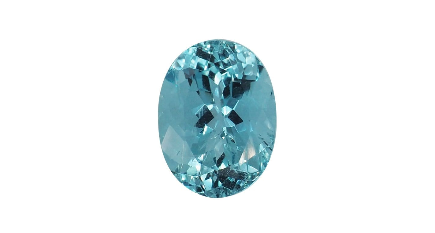 2.29ct Unheated Aquamarine