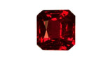 0.77ct Octagon cut Ruby