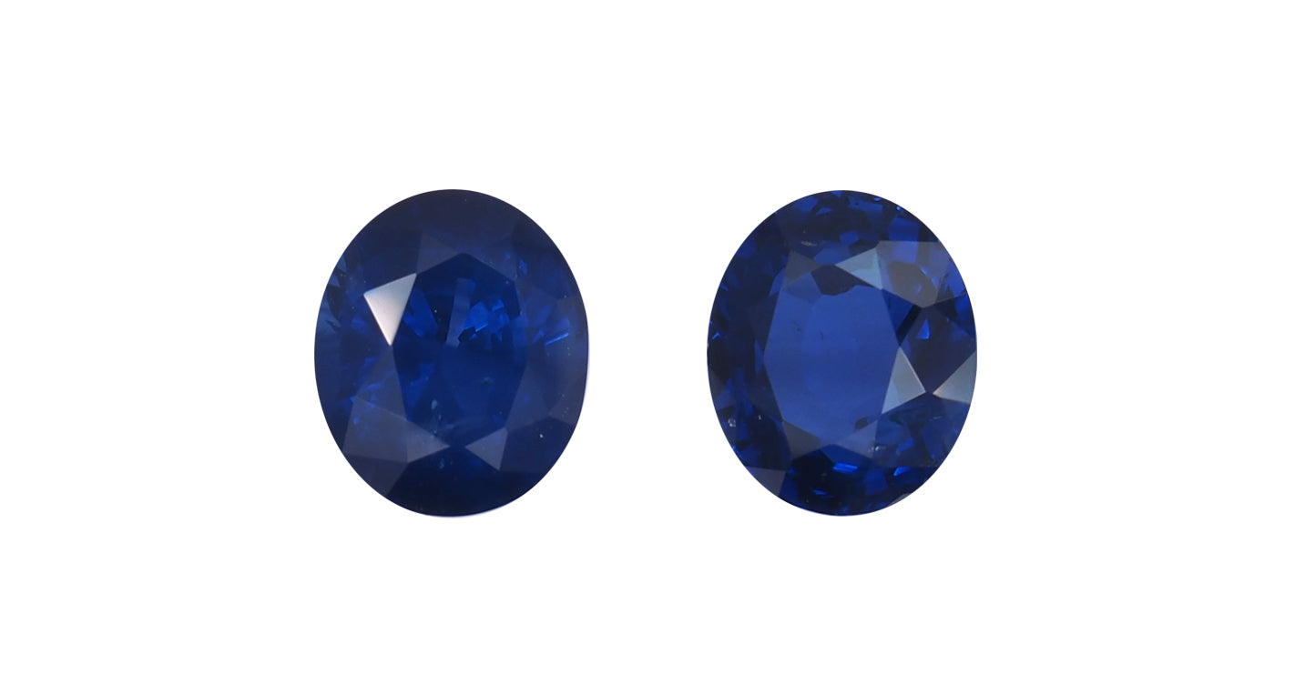 Blue Sapphires, 4ct - Far East Gems & Jewellery