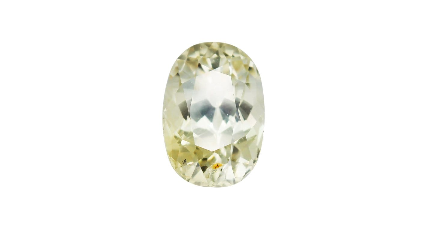 Unheated Yellow Sapphire, 5.59ct - Far East Gems & Jewellery