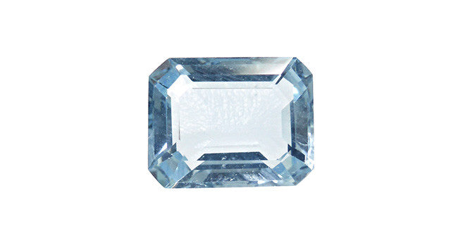 Aquamarine, Octagon 2.28ct - Far East Gems & Jewellery