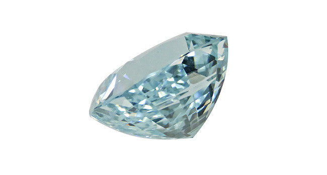 11.71ct Aquamarine, Cushion Cut - Far East Gems & Jewellery