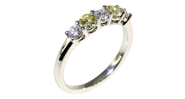 Yellow Diamond Ring - Far East Gems & Jewellery